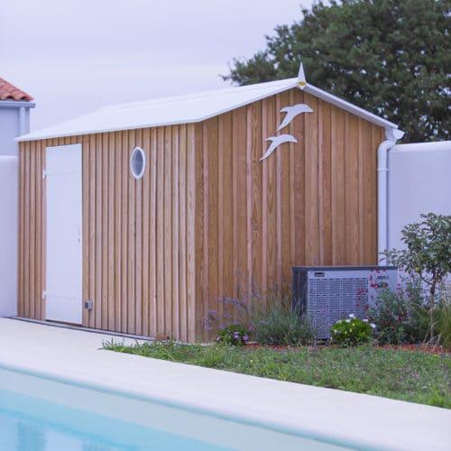 Cabane de plage jardin maison ile d'oléron